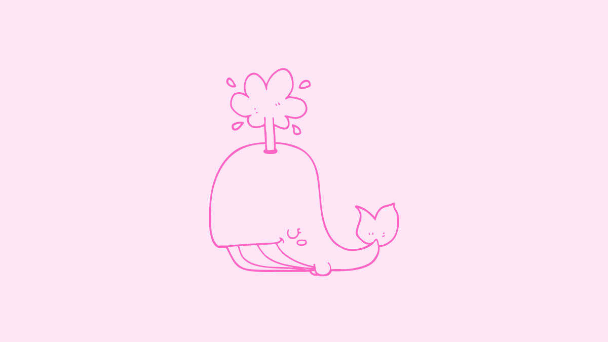Pink Whale Challenge