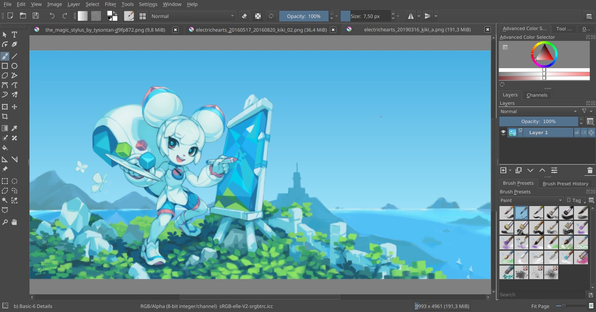 Krita_screenshot