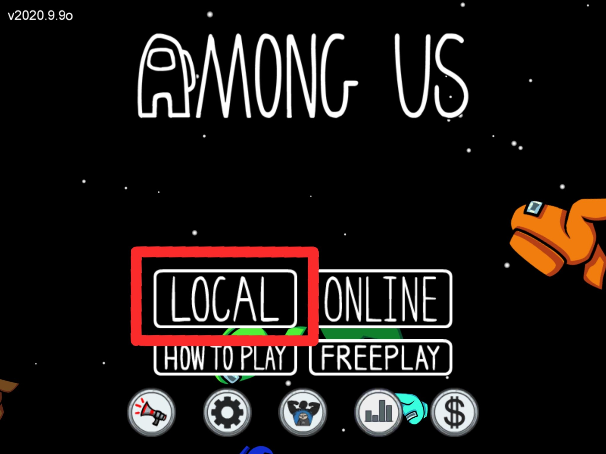 Among Us Local Online
