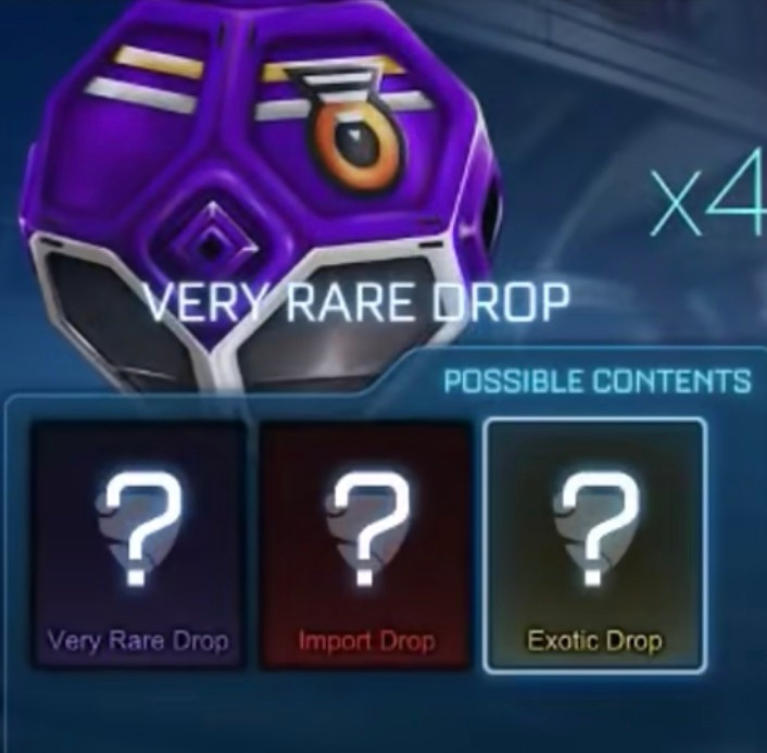 Rocket League Drop Rarities
