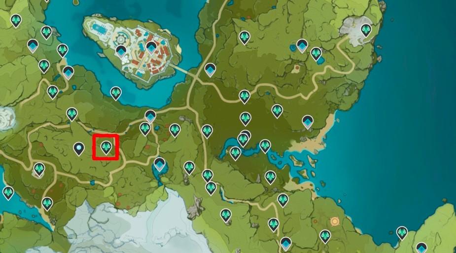 Anemoculous Locations Genshin Impact 35