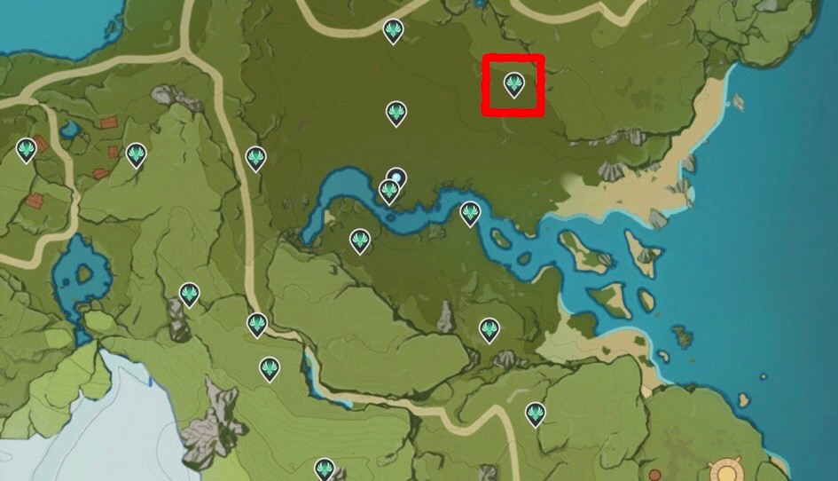 Genshin Impact Anemoculus Locations 08 Map