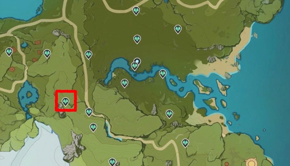 Genshin Impact Anemoculus Locations 10 Map