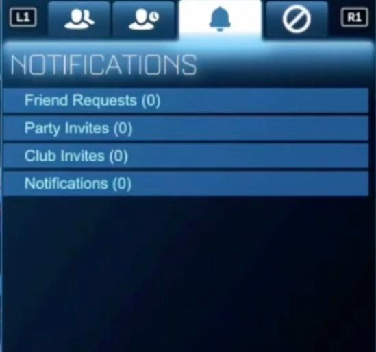 Rocket League Friends List PS4