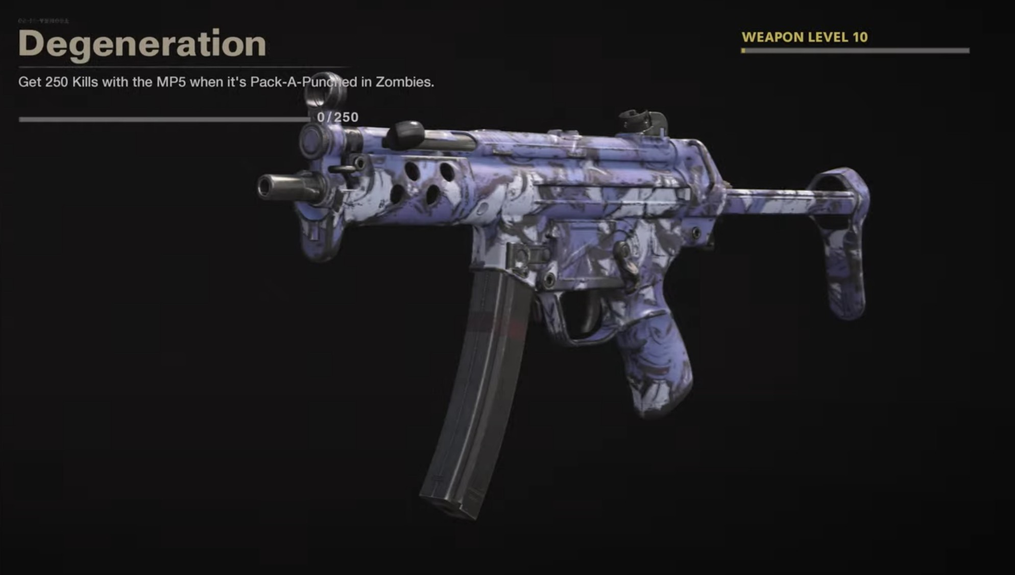 Black Ops Cold War Zombies Camo Challenges - Degeneration