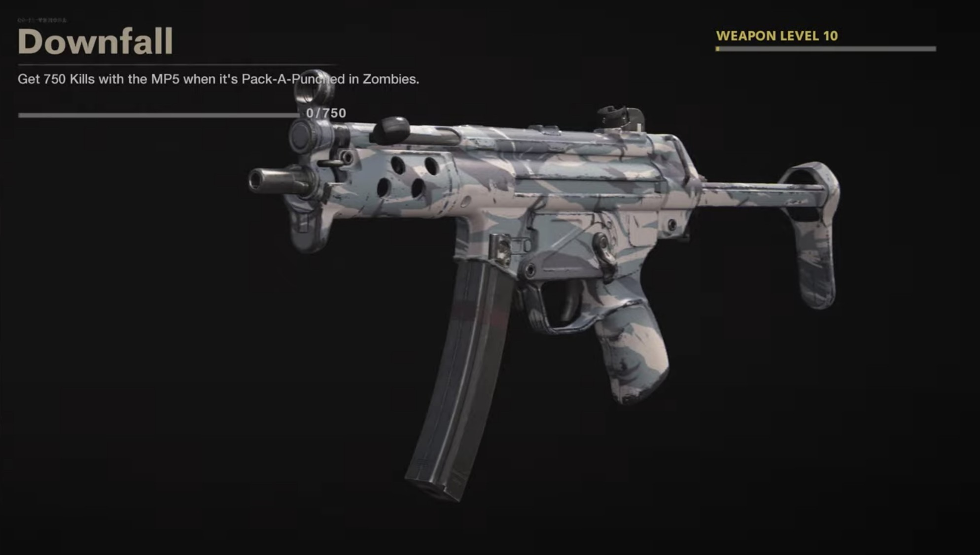 Black Ops Cold War Zombies Camo Challenges - Downfall