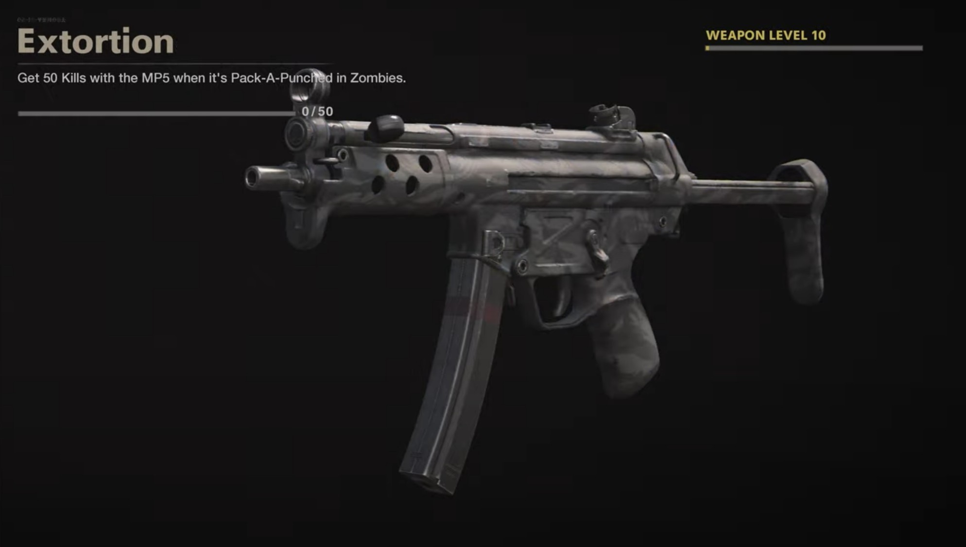 Black Ops Cold War Zombies Camo Challenges - Extortion