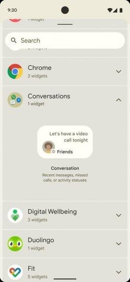 Android 12 New UI Sneak Peak - Soft Edges 02