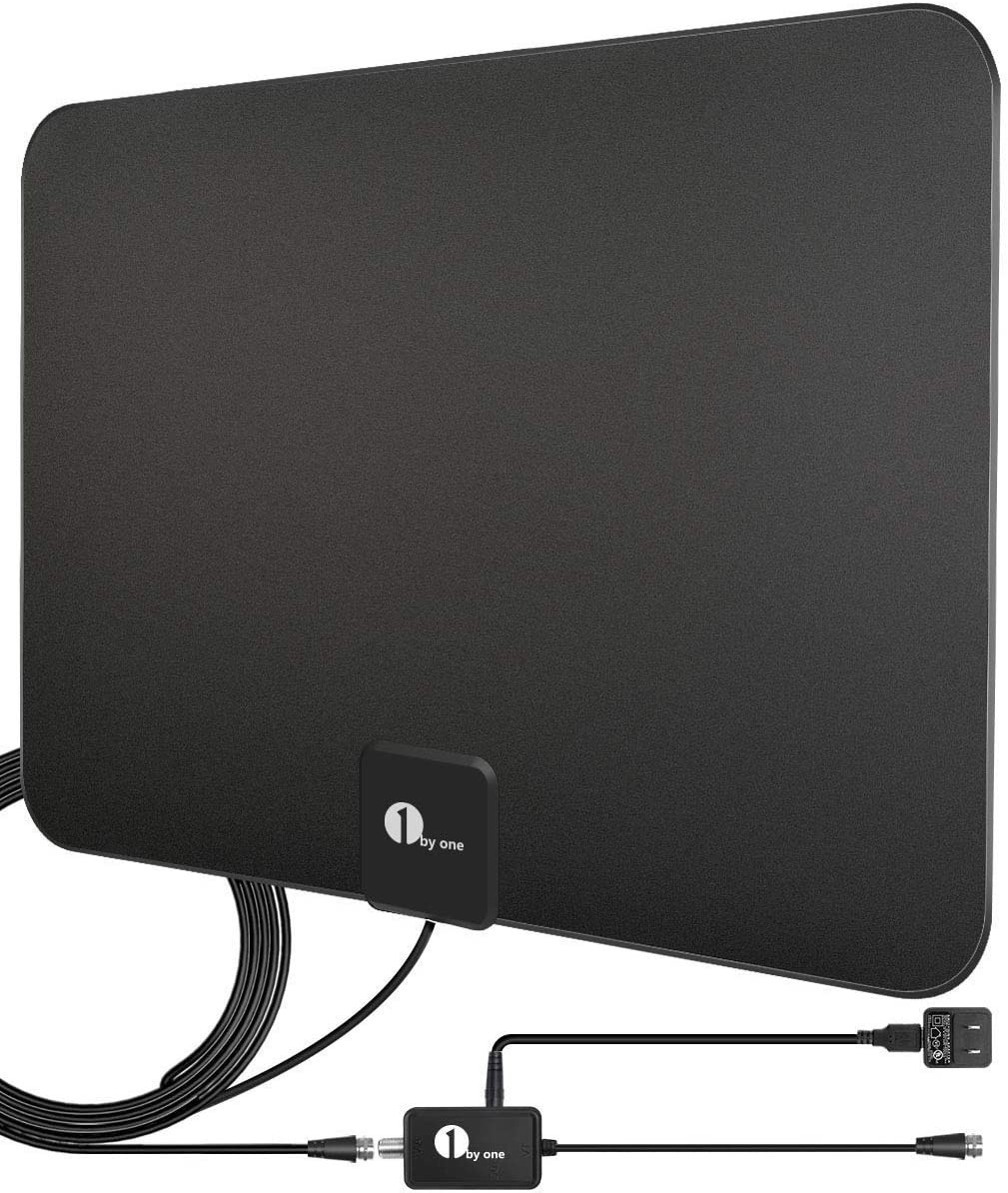 Best Antenna for TV without Cable or Internet 1 BY ONE