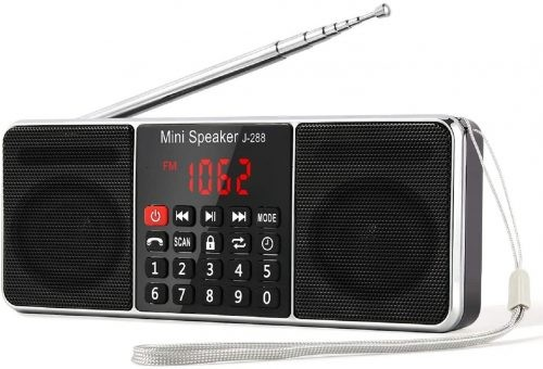 Best Bluetooth Speaker with Radio Prunus J 288