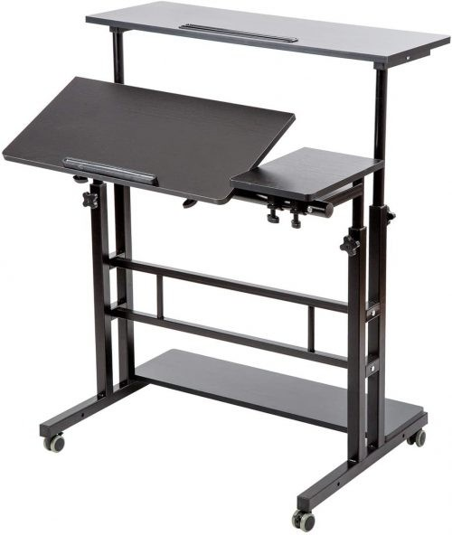 Best Drafting Table for Artists Cheap Siducal Mobile Desk