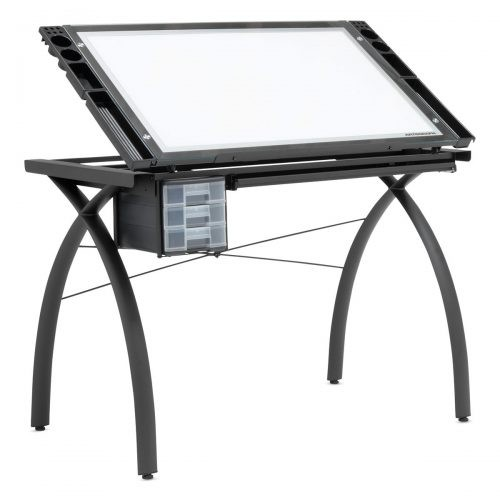 Best Drafting Table with Light Studio Designs Artograph Lightpad