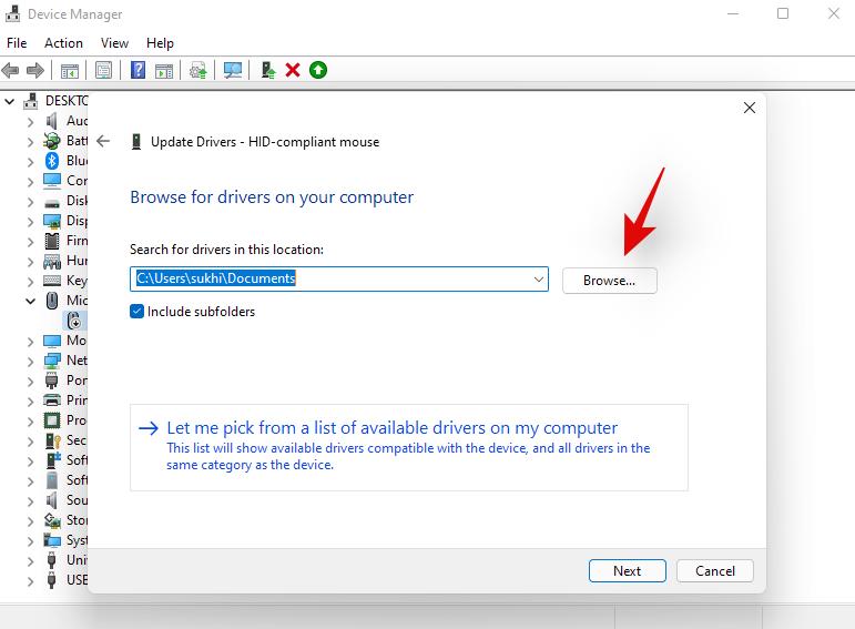 تحديث برامج التشغيل على Windows 11