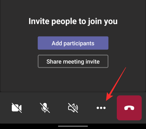 invite people to join you in microsoft teams